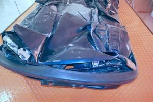 Unfall wegen Glatteis