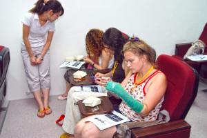 Fortbildung im Krankenstand