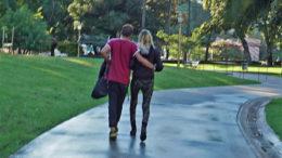 Ein Paar in Lebensgemeinschaf
