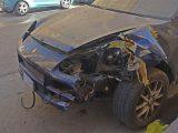 Porsche Cayenne mit einem Unfall