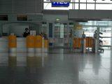 Flughafen Checkin